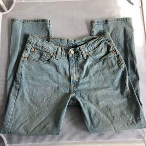 Levi's 514 Straight Leg Jeans Light Wash